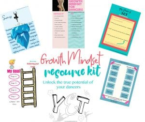 growth mindset for dancers