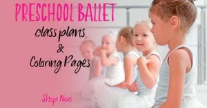 valentines preschool ballet