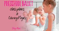 how to teach preschool ballet