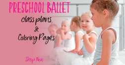 how to teach preschool ballet