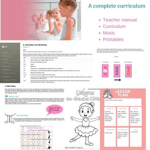 Halloween Preschool Dance class plan