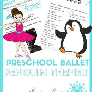 free preschool ballet class plan