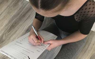 Dance Class observation worksheet