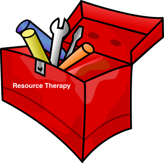 Tool box for therapists Resource Therapy