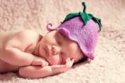 Newborn baby develops neurons so quickly.