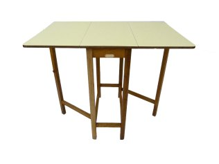 Drop Leaf 1950s Table