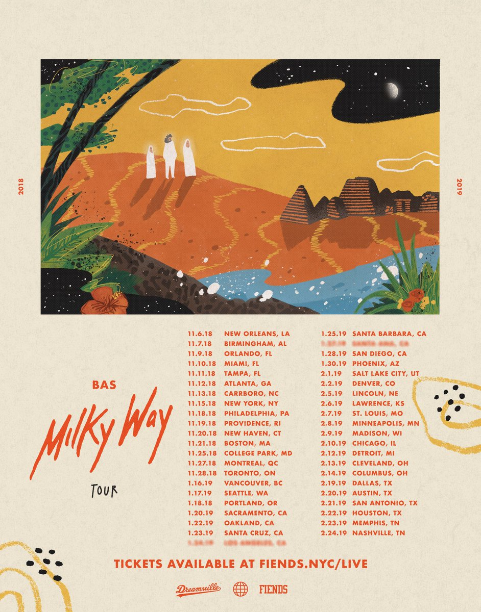 Bas 'Milky Way' Tour