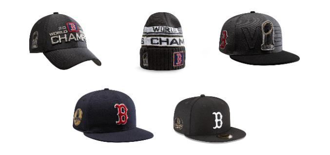 6745c999d60 New Era Celebrates Boston Red Sox With 2018 World Series Champions  Collection