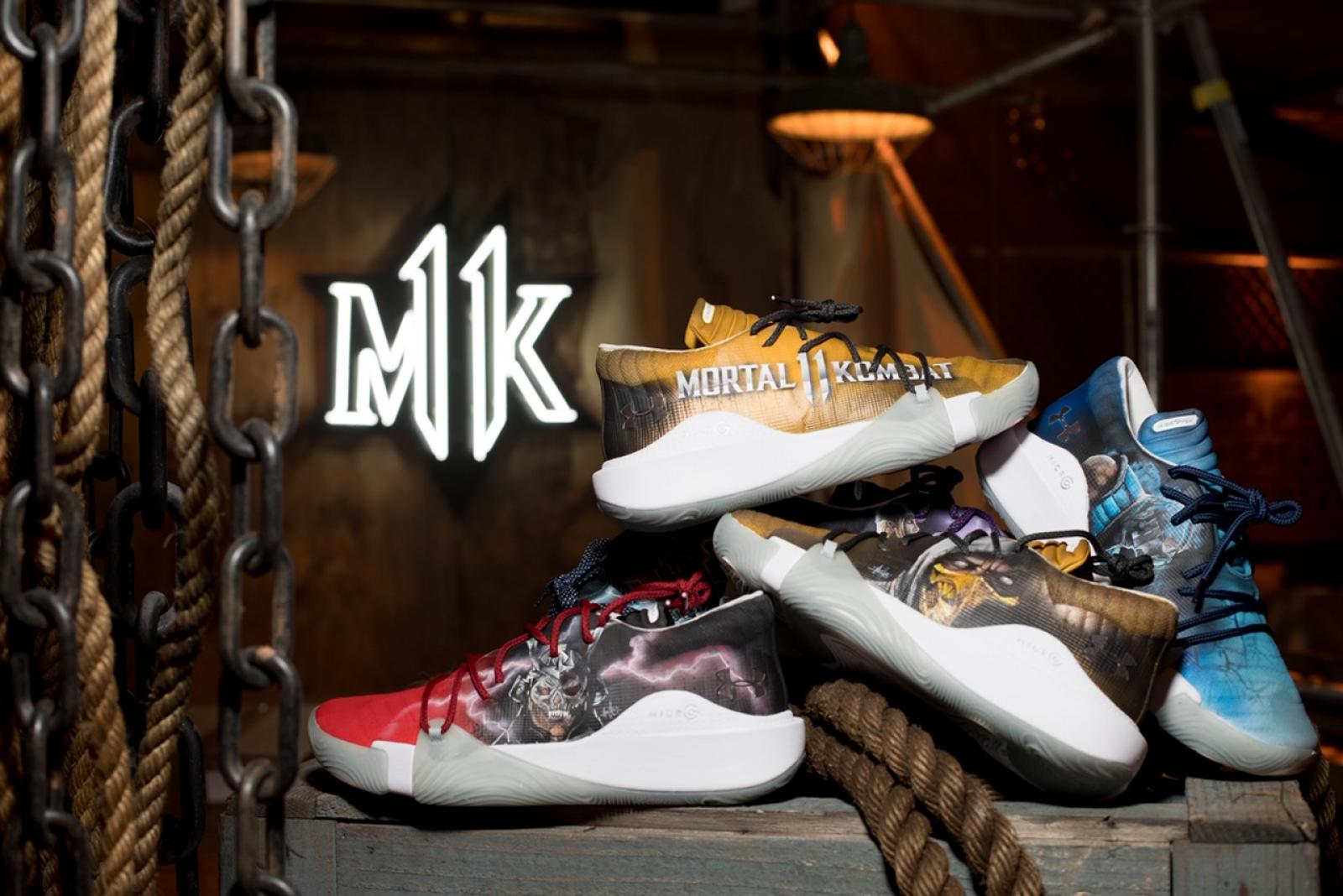 ffbb77747 Under Armour and Mortal Kombat Deliver a Footwear Fatality c/o Mache Customs