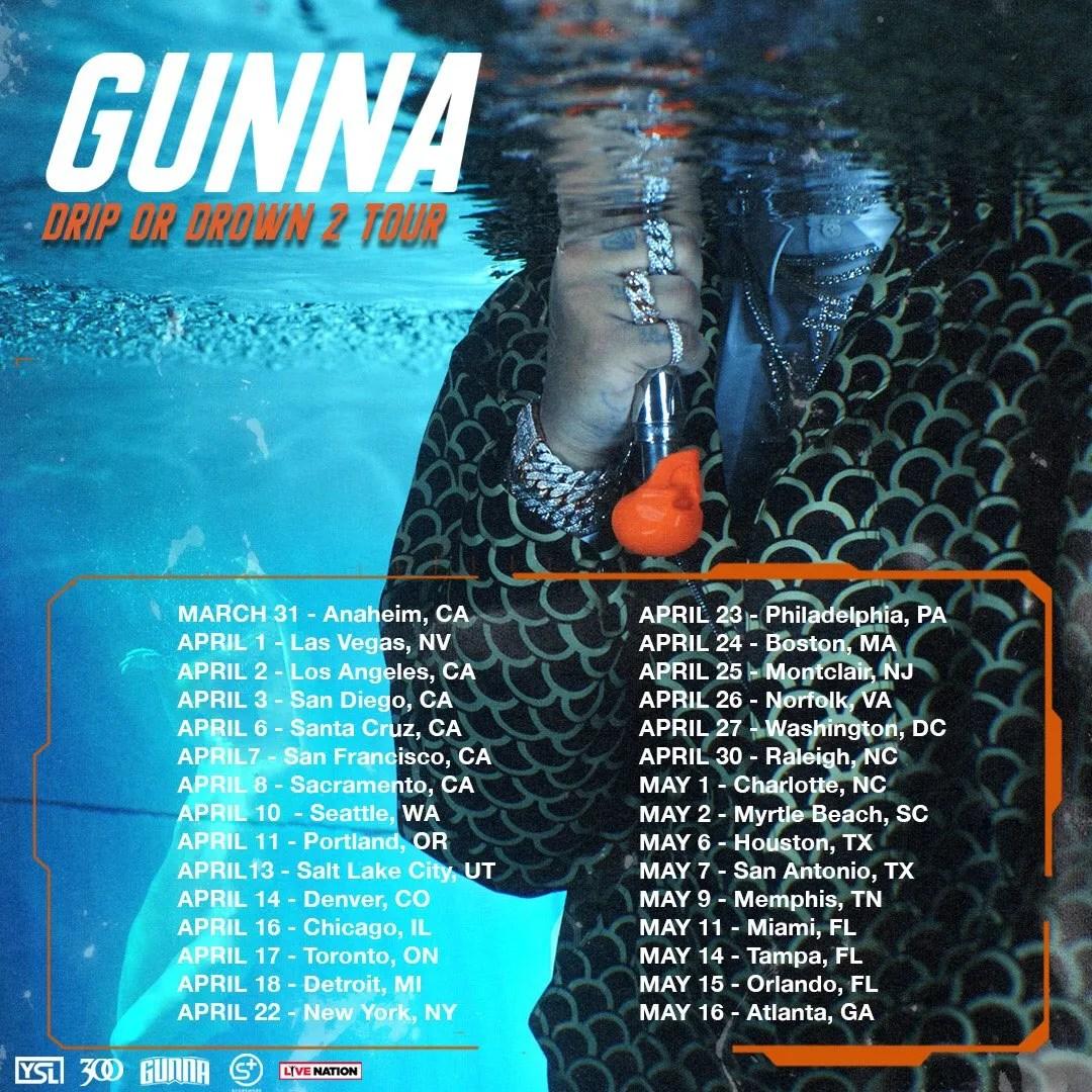 Gunna Tour