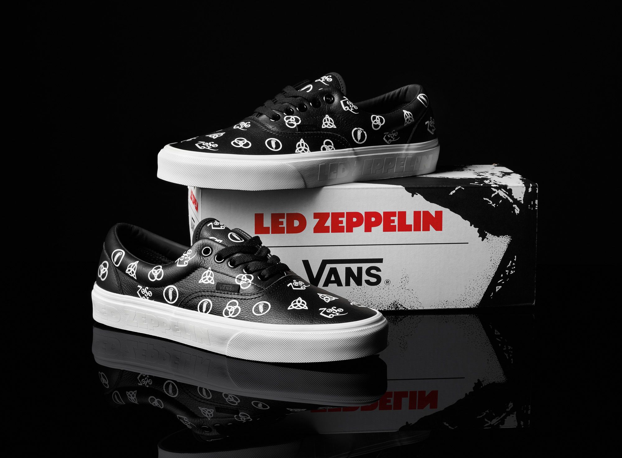 bcdd6027dea446 Vans Partners with Led Zeppelin to Commemorate 50th Anniversary of ...