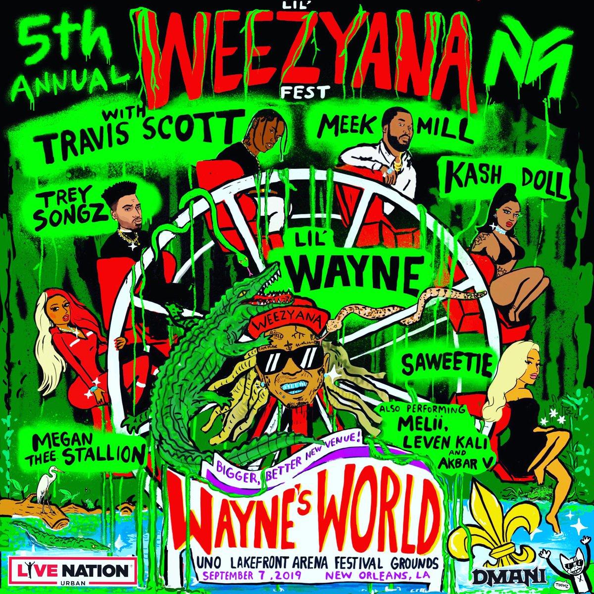Lil Wayne - Lil Weezyana Fest 2019