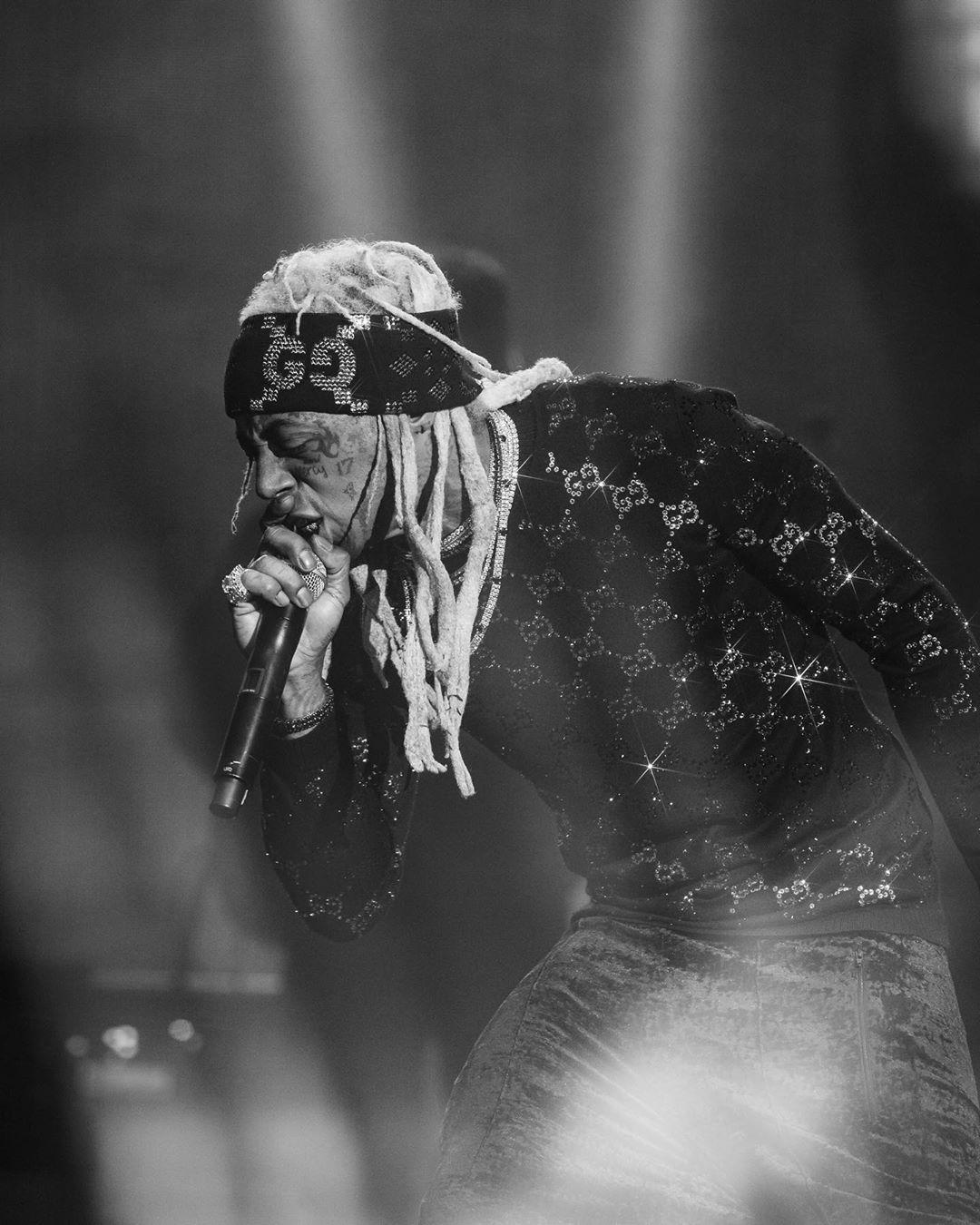 Lil Wayne at Broccoli City Festival
