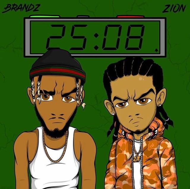 """""""Brandz & Zion New EP 25/8"""