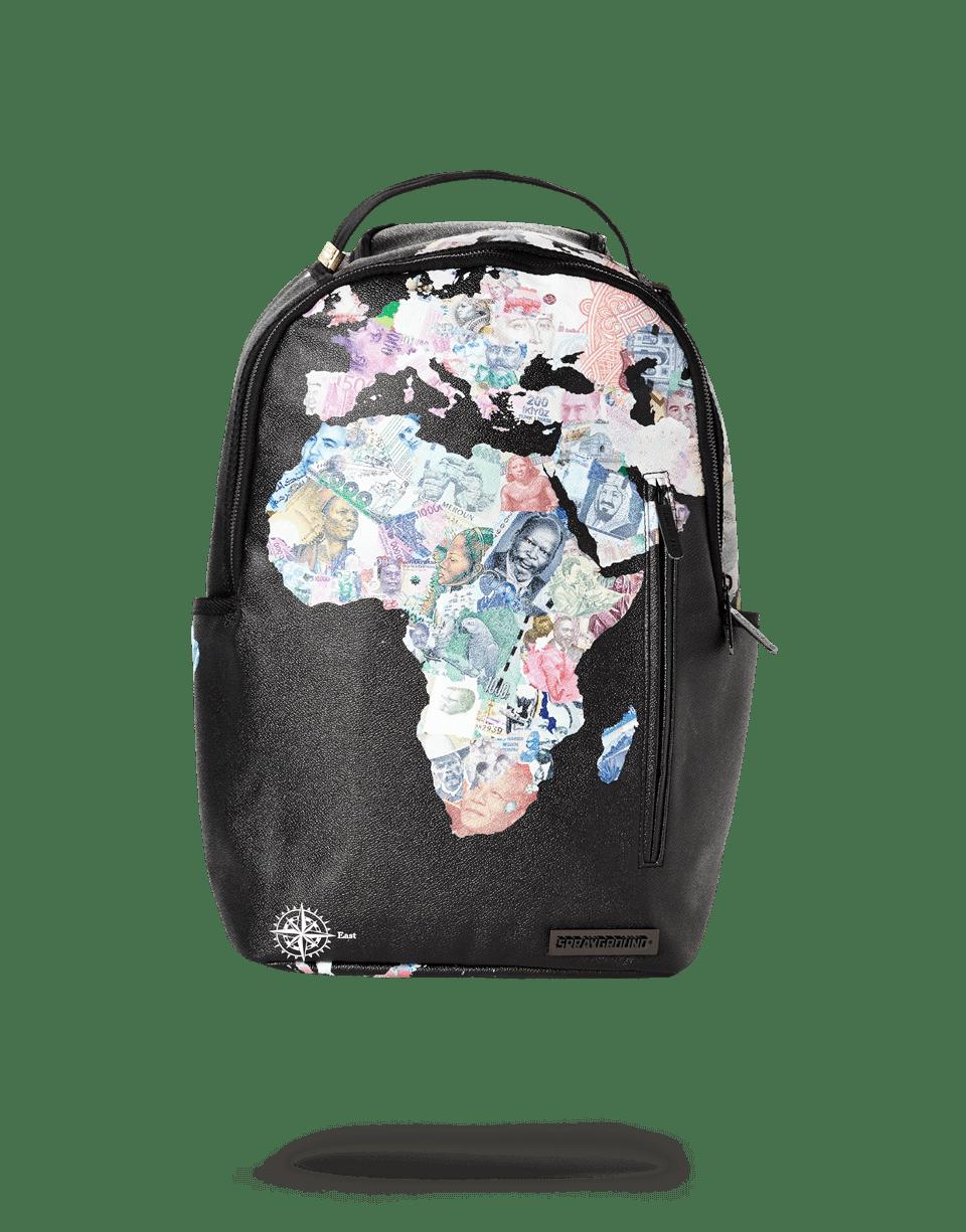 sprayground all the world fit backpack balo sprayground
