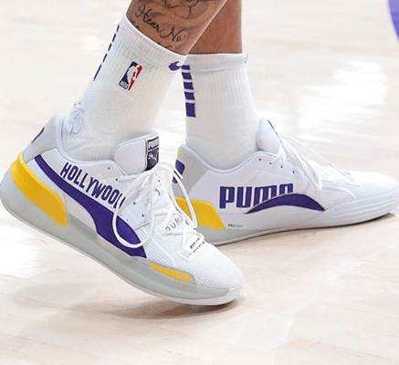 Kyle Kuzma Rj Barrett Danny Green And Kevin Knox Debut Puma Hoops Clyde Hardwood Nyc And La Shoes Respect