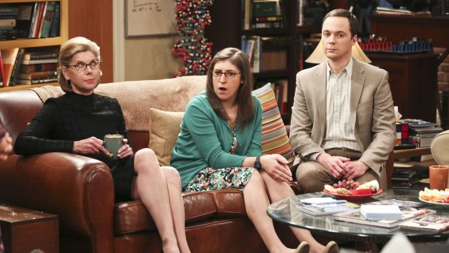 Mayim Bialik as Amy Farrah Fowler