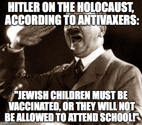 The Hitler antivaccine Holocaust