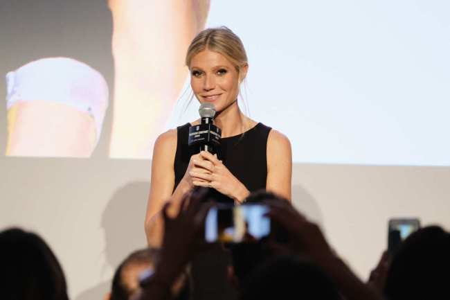 Gwyneth Paltrow at the Goop Summit