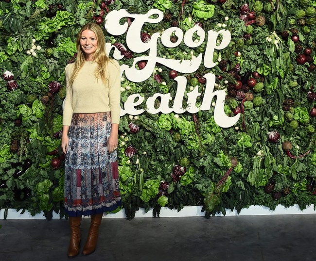 Gwyneth Paltrow at In Goop Health