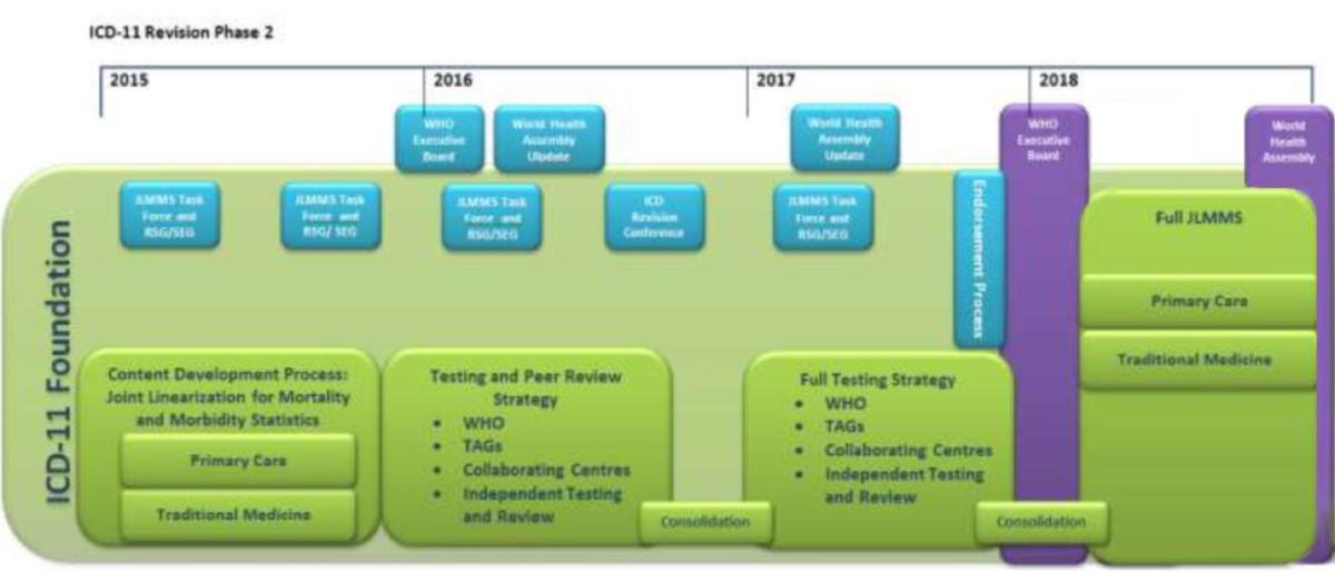 ICD-11 roadmap