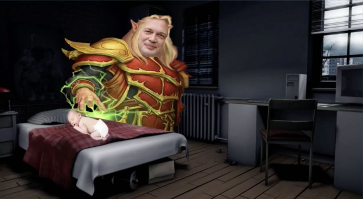 Andrew Wakefield as the Measles Fairy