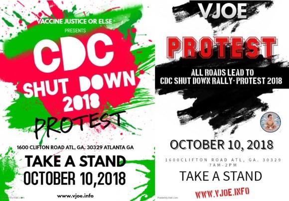 CDC Shutdown Protest