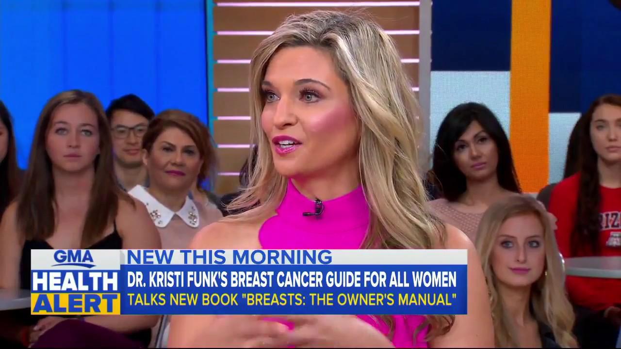 "Dr. Kristi Funk on ""Good Morning America"""