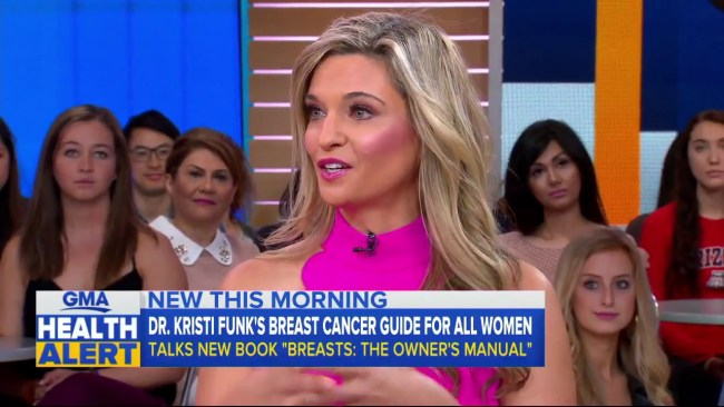 "Dr. Kristi Funk on ""Good Morning America"""