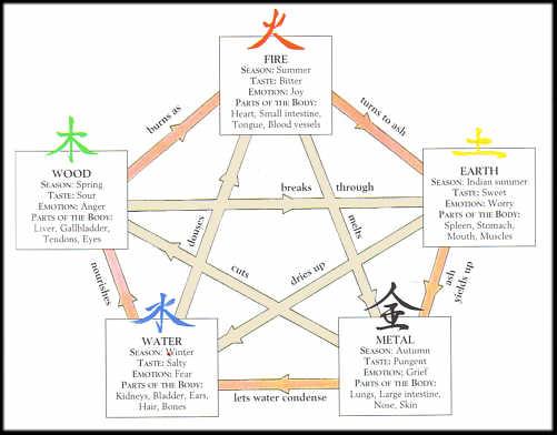 TCM Five Elements