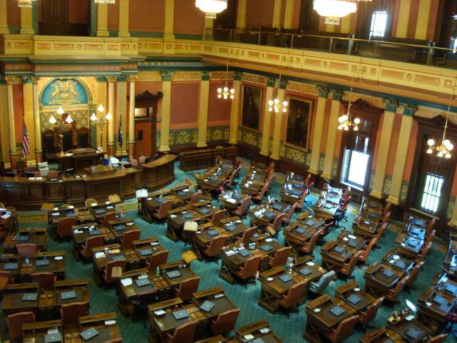 The Michigan House of Representatives considers HB 4710