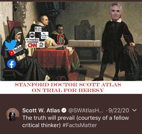 Scott Atlas as Galileo