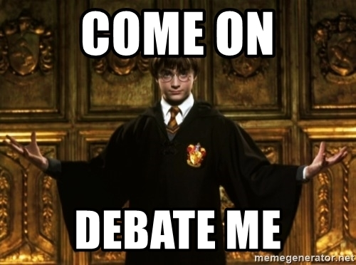 AIER: Come on, debate me!
