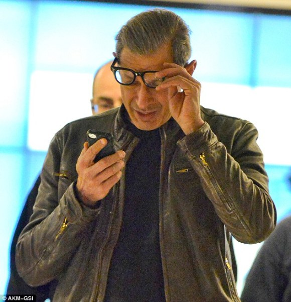 Jeff Goldblum reacts to Andrew Wakefield
