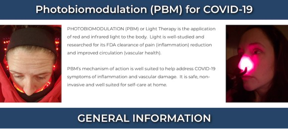 """""""Light therapy"""" for COVID-19?"""
