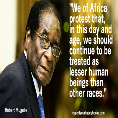 Robert Mugabe Quote