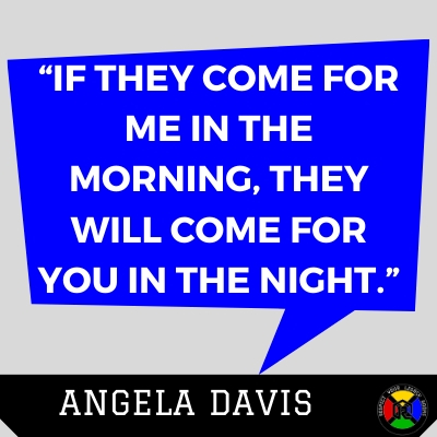 Angela Davis Quote - Morning