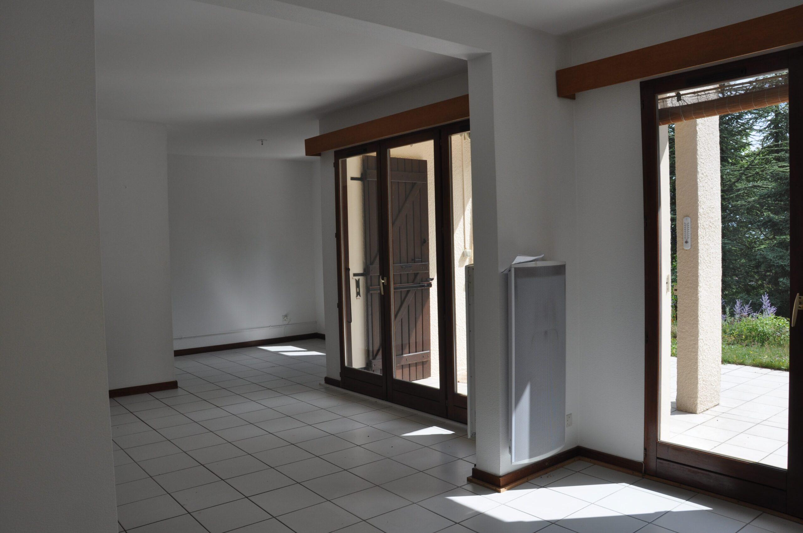 Portes-fenêtres de chez moi avant la rénovation