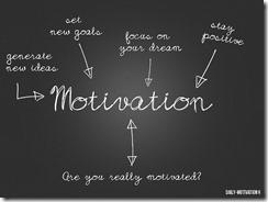 Comment être motivé?