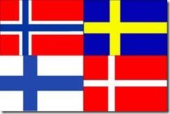 Comment est l'avance des pays scandinaves