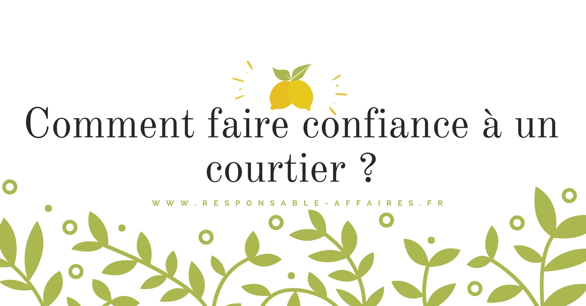 FINANCE – Comment faire confiance à un ace courtier ?
