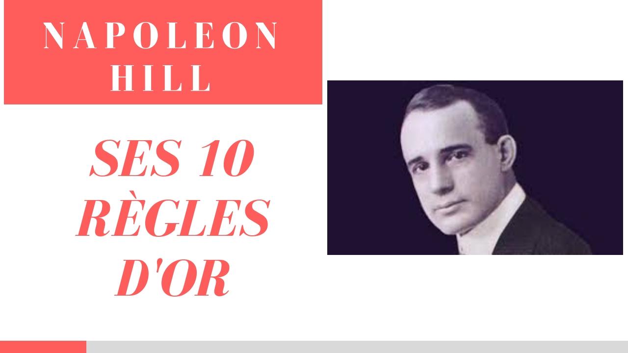 NAPOLÉON HILL ‐ Ses 10 clés pour créer de la richesse en 2020