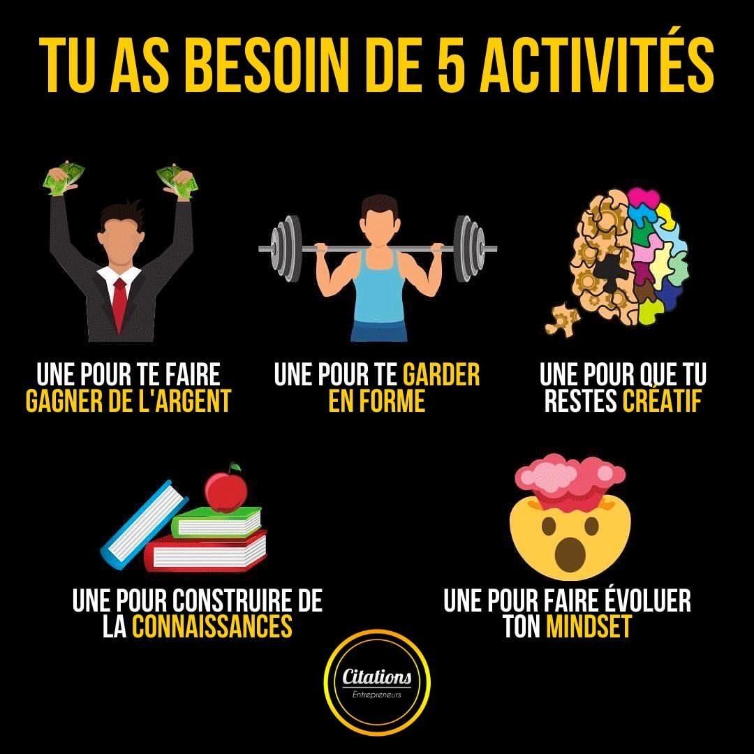 5 activités à faire pour ton bien être