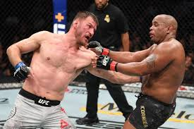 La trilogie Cormier vs Miocic en discussion | Sport Business Mag