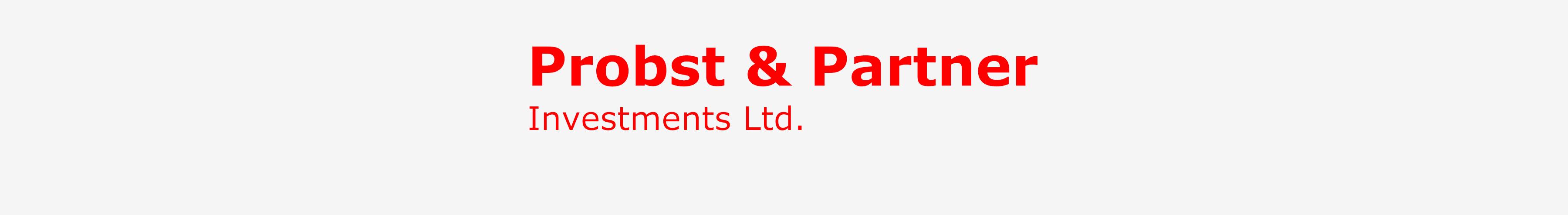 Probst & Partner, Investments Ltd.