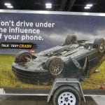 Don't drive under the influence of your phone!