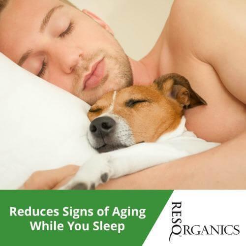Men's Anti Aging Repairing Night Serum - ResQ Organics Pets