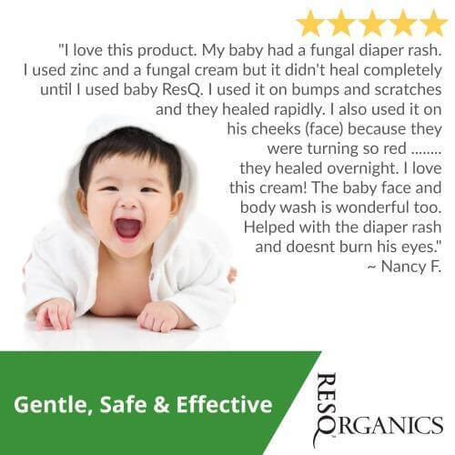 Gentle Baby Face & Body Wash - ResQ Organics Pets