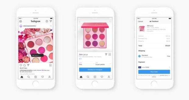 nouvelle fonctionnalité shopping dans instagram
