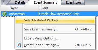 Sélectionnez facilement les paquets correspondants Problèmes de connexion à Oracle